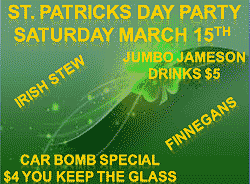 St Patricks Day At Hoppers Bar