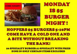 5 Buck Burgers