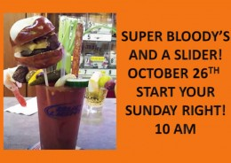 Bloody and a Slider is back!