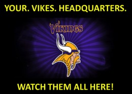 Watch Every Vikings Game at Hoppers