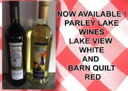 Now At Hoppers Bar, Parley Lake Wines