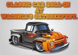 Classic Car Roll-In At Waconia's Oktoberfest