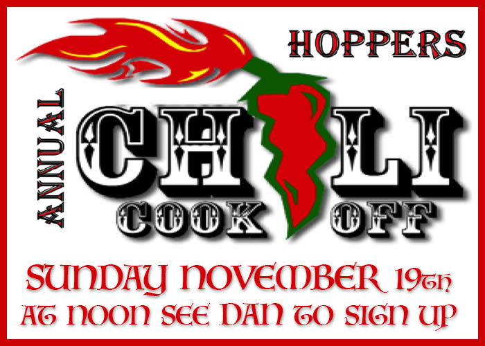 2017 Chili Cookoff at Hoppers
