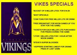 Vikings Specials