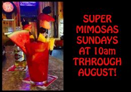 Super Mimosas Sundays
