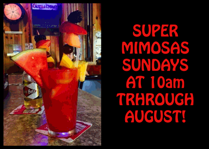 Super Mimosa Sundays