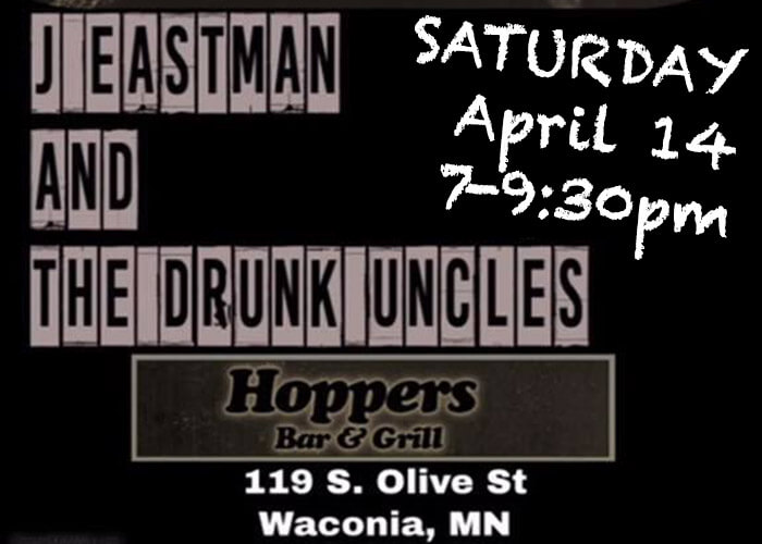 Drunk Uncles at Hoppers April 14